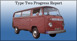 van progress link, now with added mg midget progress